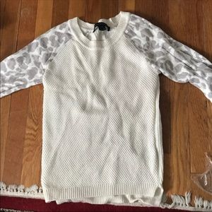 French Connection Leopard Sweater